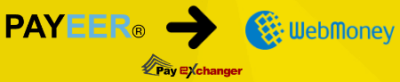 exchange payeer to wmz
